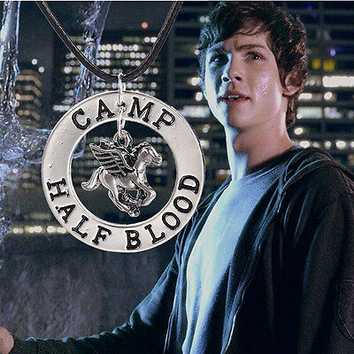 Hot Selling Flying Horse Percy Jackson Camp Half Blood Pendant Necklace Gift 1PC