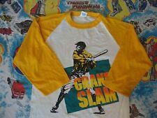 Vintage GRAND SLAM Baseball Raglan jersey Sleeve Punk rock T shirt Adult size M