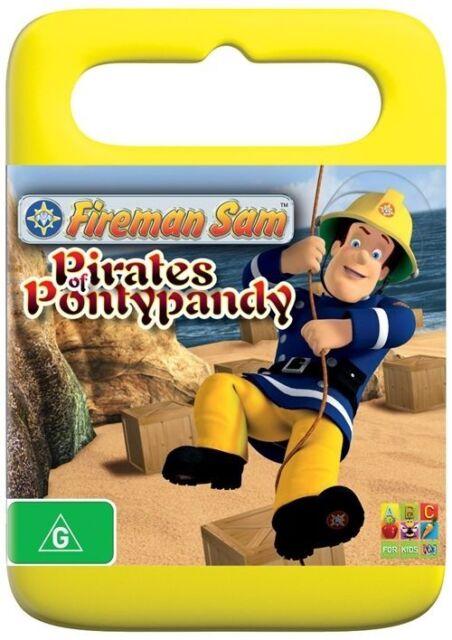 Fireman Sam - Pirates of Pontypandy - DVD - FREE POST