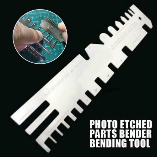 AJ0086 Model Ship Tank Photo Etched Parts Bender Vise Tool Folding Bending X9A5