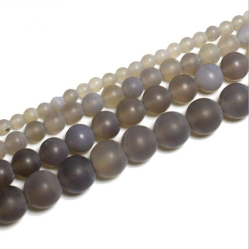 Wholesale NATURAL GEMSTONE Round Charms Loose Spacer BEADS 4MM 6MM DIY Jewelry
