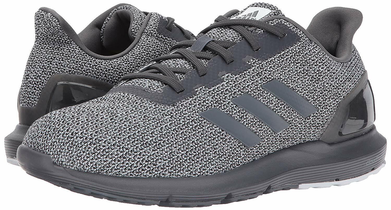 Men Adidas Cosmic 2 SL Running Mesh Upper CQ1710 Grey Black 100% Authentic New