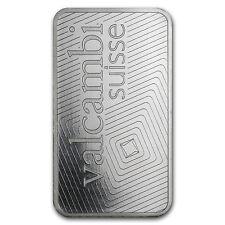 1 oz Valcambi Suisse Platinum Bar - In Assay - SKU #76687