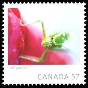 Canada-2391i-KATYDID-VF-NH-Brand-New-2010-Die-Cut-Issue