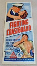 FIGHTING COAST GUARD ORIGINAL DAYBILL CINEMA MOVIE POSTER 1951 Brian Donlevy