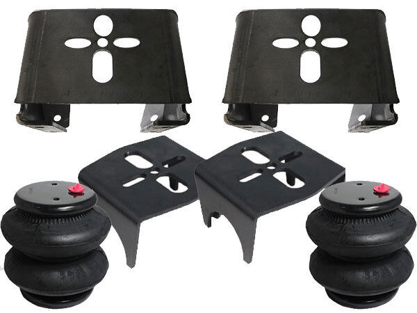 "Rear WeldOn Air Ride Mounting Brackets w/2600 Airbag Suspension 3.00""axle 1/2Ton"