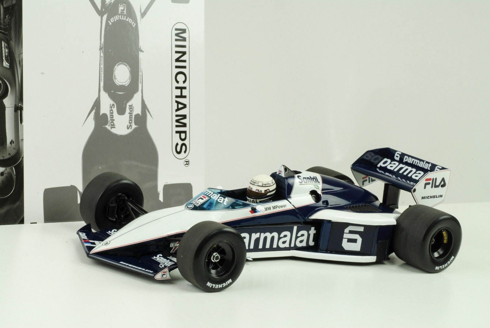 1983 Brabham BMW BT52  5 Campeón Mundial Piquet  F1 1 18 Minichamps  nouveaux produits nouveautés