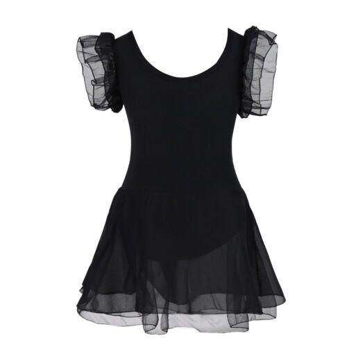 Girls Kid Camisole Ballet Dress Ballerina Empire Waist Leotard Skater Dance Wear