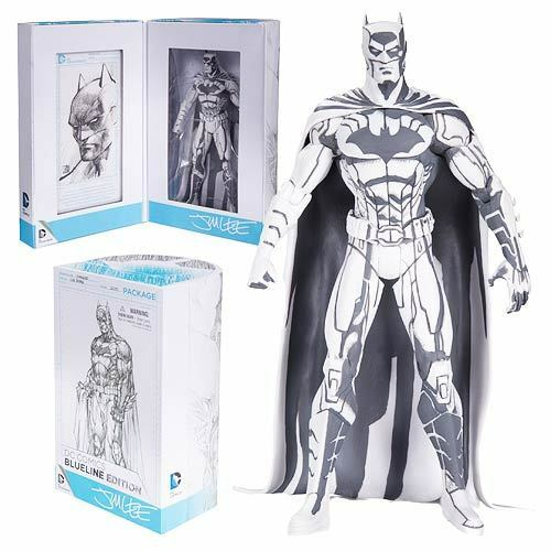 Dc Comics Diamante Exclusivo Sdcc 2015 Jim Lee 6  Batman azulline Sketch Figura