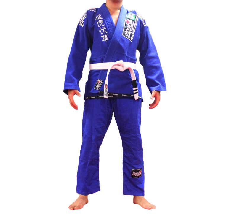 SKANDA Jiu jitsu GI Jiujitsu Uniform Pearl weave 10oz ripstop Brazil Suit blueee