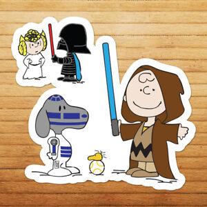Snoopy-Peanuts-Star-Wars-Darth-Vader-Charlie-Brown-Wall-Car-Vinyl-Decal-Sticker
