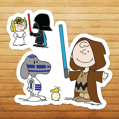 Snoopy BUY 2 GET 1 FREE  Vinyl Sticker Decal peanuts charly brown