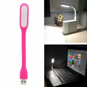 Bright Mini USB LED Lights Computer Lamp For Notebook PC Laptop Reading Flexible