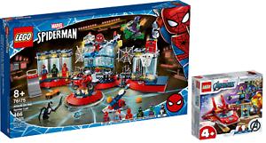 LEGO-Marvel-76175-Angriff-auf-Spider-Mans-Versteck-76170-Iron-Man-N3-21-VORVERK