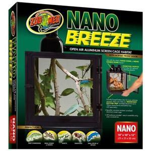 Zoo-Med-Nano-Breeze-Aluminum-Screen-Cage-10-034-x-10-034-x-12-034