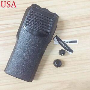 Black-Replacement-Repair-case-Housing-cover-for-Motorola-CP200-portable-Radio