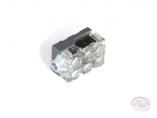 Yellow Light LEGO Electric Light Brick 2x3x1-1//3 New Trans-clear Top