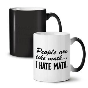 Hate Math NEW Colour Changing Tea Coffee Mug 11 oz   Wellcoda