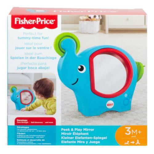 Mattel Fisher-Price Kleiner Elefanten-Spiegel Babyspiegel Babyspielzeug