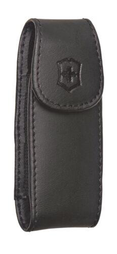 Victorinox Swisschamp Walnut Edition  Swiss Army W// Black Leather Clip Pouch