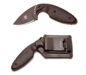 Ka-Bar-1480-TDI-Law-Enforcement-Plain-Drop-Point-Fixed-Blade-Knife-Sheath