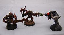 Warhammer 40K Chaos Marine  rogue trader era lot oop nurgle dev & khorne scout