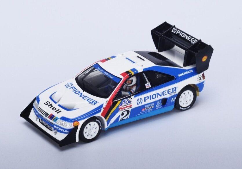 Peugeot 405 Turbo  2 R.Unser  Winner Pike's Peak  1989 (Spark 1 43   43PP89)