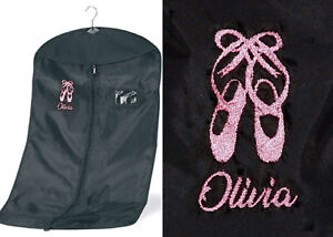 Personalised-Dance-Suit-Garment-Costume-Carrier-Bag-EMBROIDERED-BALLET-SHOES