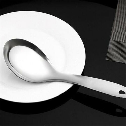 Large Rice Soup Serving Spoon Stainless Steel Soup Spoon High Quality LP