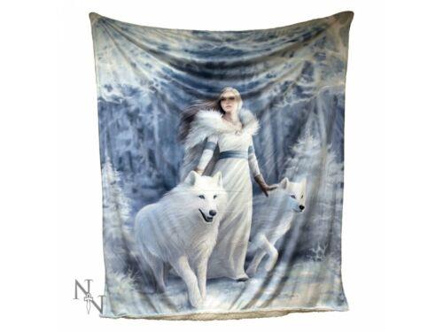 Winter Guardians Throw 160cm Nemesis Now Goth Anne Stokes Magic Fantasy FREE P+P