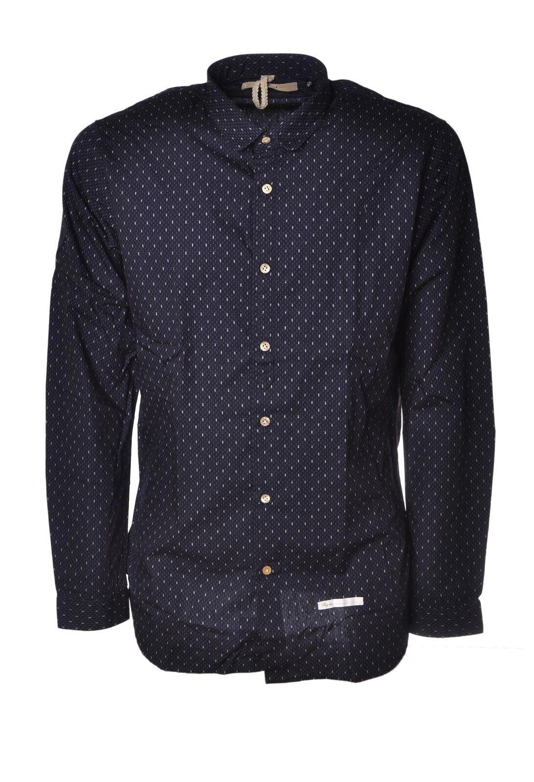Dnl - Shirts-Shirts - Man - Blau - 4358911H184046