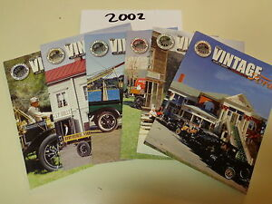 vintage ford magazine 2002 6 issues model t ford club of america. Cars Review. Best American Auto & Cars Review