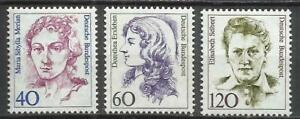 8231E-MUJERES-FAMOSAS-CELEBRES-MNH-SERIE-COMPLETA-ALEMANIA-1163-5-ANO-1987