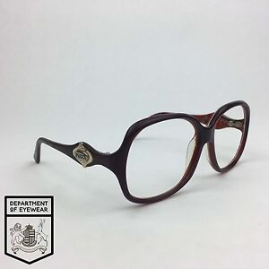 d26b6c31c6dc Image is loading PUCCI-eyeglasses-DARK-BURGUNDY-SQUARED-frame