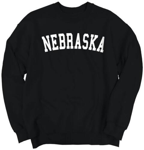 Nebraska Athletic Student Gym Vacation NE  Crewneck Sweat Shirts Sweatshirts