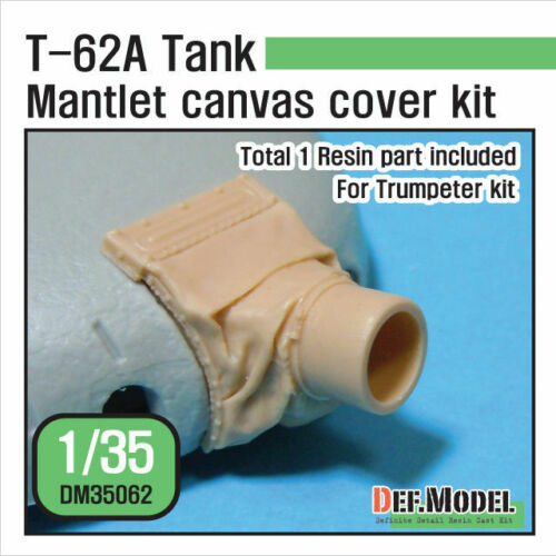 For TRUMPETER kit 1//35 T-62A Mantlet Canvas Cover Set