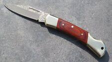 Herbertz Damast-Taschenmesser Messer Damastmesser Jagdmesser Jagd Neu 265711