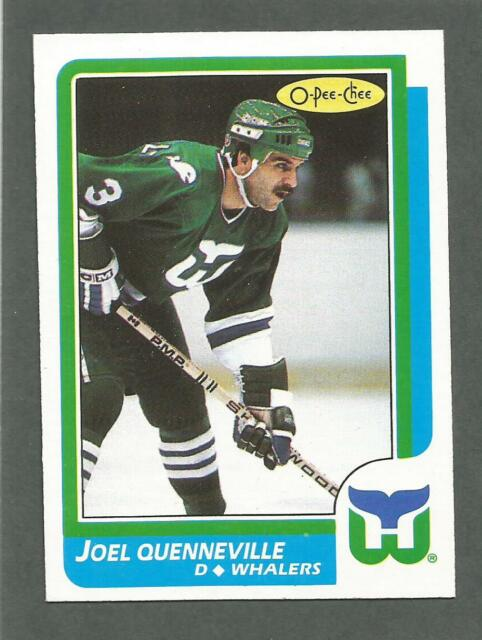 1986-87 OPC O-Pee-Chee Hockey Joel Quenneville #118 Hartford Whalers NM/MT