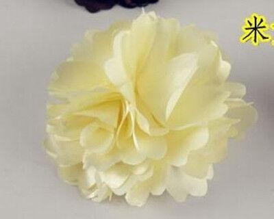 Fashion Woman Lady Peony Flower Hair Clip Hairpin Brooch