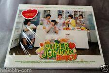 K-pop Super Junior Hapy 1st Mini Album - Cooking? Cooking CD Booklet