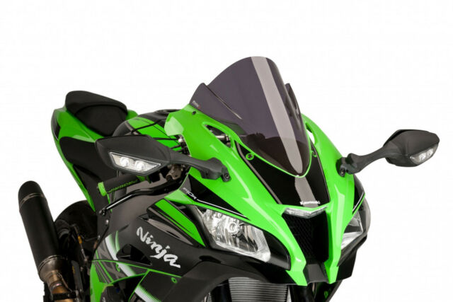 PUIG RACING SCREEN KAWASAKI ZX-10R SE 18 DARK SMOKE