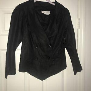 BALLA VALENTINA For VICA MODA 100% Linen Vintage Women Jacket Size 6
