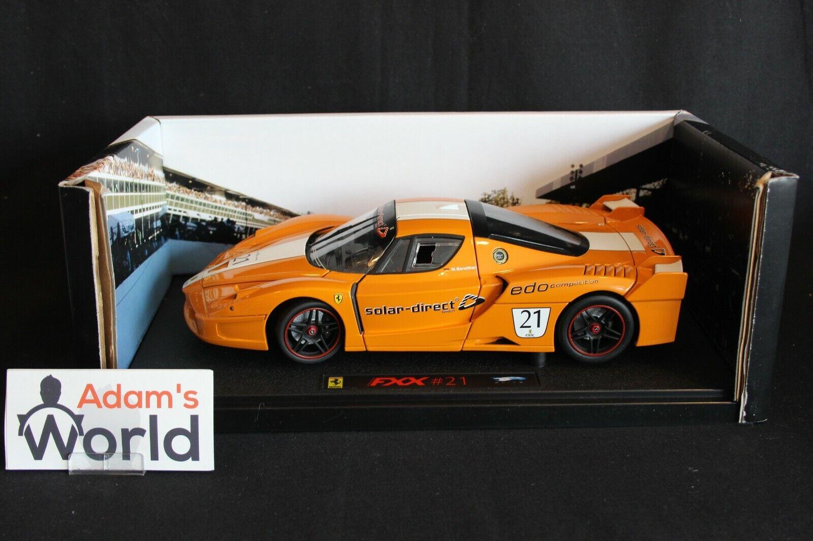 Hot Wheels Elite Ferrari FXX 1 18  21 M. Bareither (GER) (PJBB)