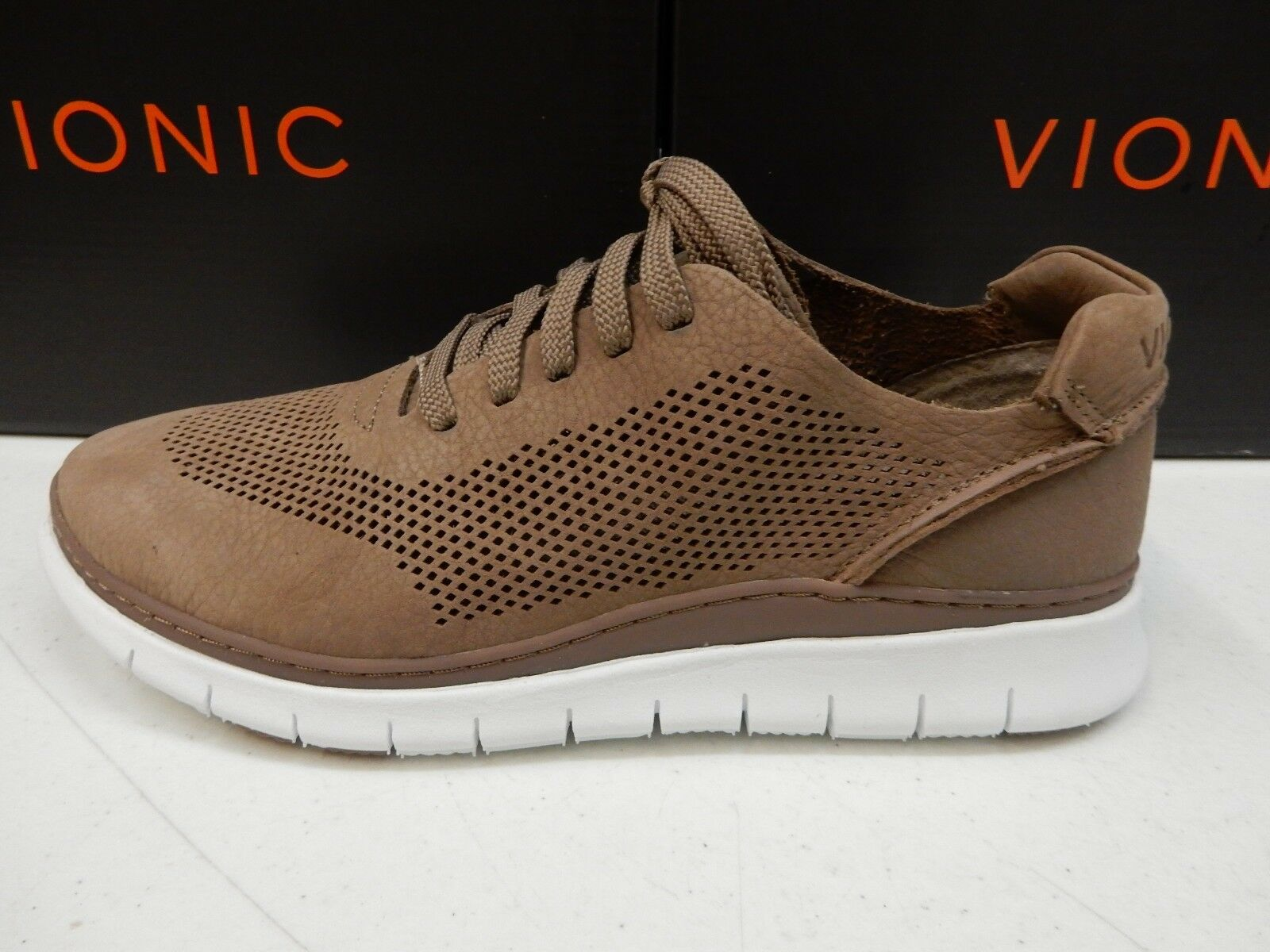 VIONIC WOMENS JOEY CASUAL SNEAKER TAUPE TAUPE TAUPE SIZE 7 82ca89