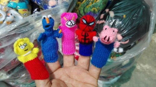 WE HAVE STORE FREE SHIPPING LOT OF 500 FINGER PUPPETS FROM PERU HANDKNITTED