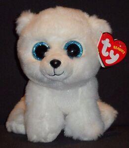 159da82df5f TY ARCTIC the POLAR BEAR BEANIE BABY - MINT with MINT TAG 8421421084 ...