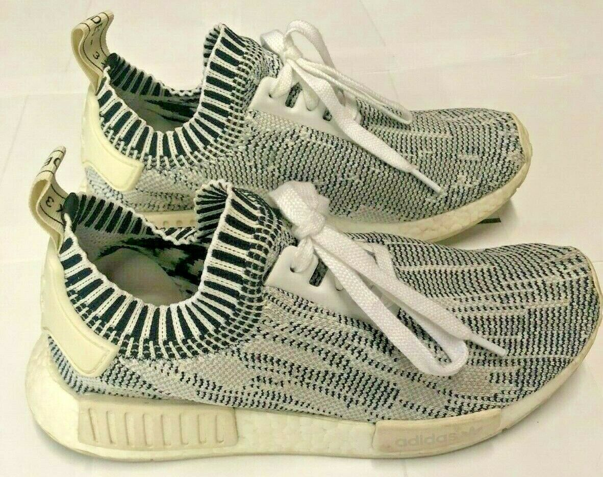 Adidas NMD R1 PK Primeknit Camo Pack Clear Onyx Size 6 BA8600 100% Authentic