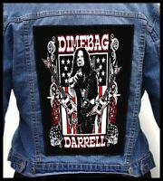 Dimebag Darrell --- Giant Backpatch Back Patch / Pantera Superjoint Ritual