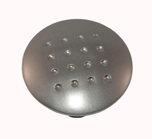 Boîte de 20 Matt Nickel 33 mm alvéolée Cuisine Tiroir//poignées de porte avec vis