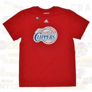 790944be738 Image is loading LOS-ANGELES-CLIPPERS-LA-Official-Adidas-NBA-Red-